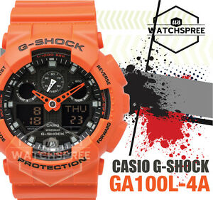 Casio-G-Shock-Special-Color-Model-anti-magnetic-GA-100-Series-Watch-GA100L-4A