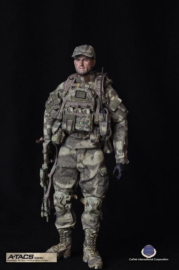 Cal-Tek US A-TACS Camo Advanced Tactical Concealment System Operator 1 6 Figure