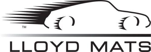LLOYD MATS Classic Loop™ 4pc Ebony FLOOR MAT SET with logos 2004-07 Cadillac XLR