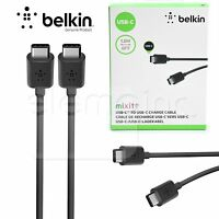 Belkin Usb C To Usb C Sync 2.0a Type C 6ft Charger Cable Usb-if Certified Black