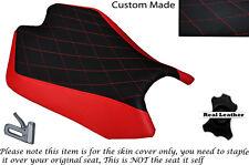 DIAMON STITCH DESIGN RED CUSTOM FITS APRILIA RSV4 R 1000 09-15 FRONT SEAT COVER