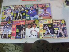 Amazing Lot of 9 Rare 1980s BASEBALL DIGEST Magazines