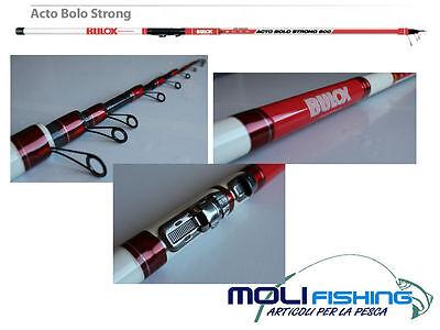 Cordiale Canna Pesca Bolognese In Carbonio Bulox Acto Bolo Strong 5 Mt - Azione 5-35 Gr