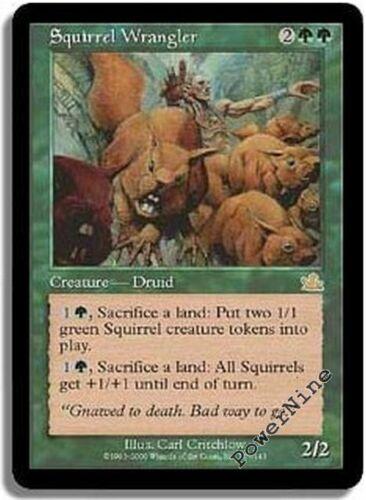 1 Squirrel Wrangler Green Prophecy Mtg Magic Rare 1x x1