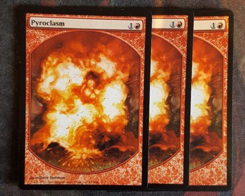Mtg pyroclasm full art promo  x 1 great condition
