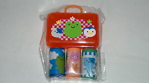 Eraser-Gomas-de-Borrar-Caja-con-Gomas-x3-Estuche-Regalo-Goma-NUEVO-NEW