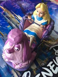 Disney Parks Alice in Wonderland Disneyland Attraction Figurine Jim Shore