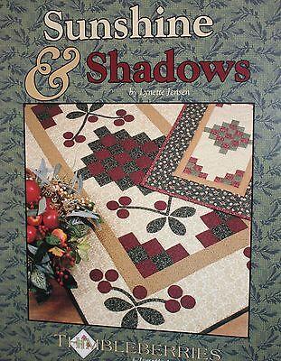Thimbleberries Sunshine & Shadows Quilting Book/Pattern 40 PGS NEW BK 245