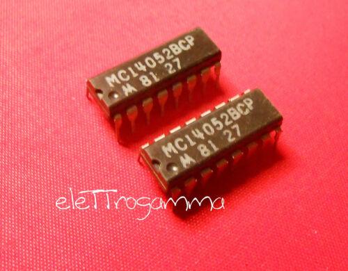 2pz x MC14052BCP MC 14052 BCP