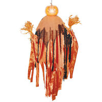 Sunstar Industries Hanging Light-Up Pumpkin Reaper Halloween Decoration Prop