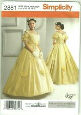 McCalls 3597 Womens Civil War Era Southern Belle Gown Dress ...