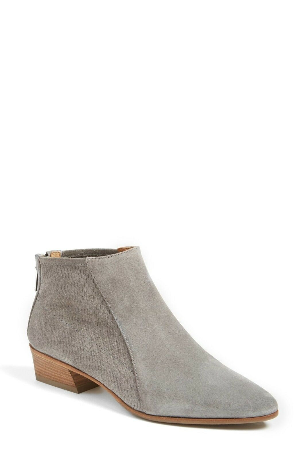 425 AQUATALIA New Fianna grau Ash Perforated Leather Ankle Stiefelies Stiefel 5.5 US