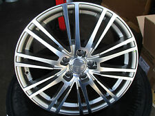 WHEELWORLD WH18 DAYTONAGRAU POLIERT IN 8Jx18 ET45 5x112mm für Audi, VW, Seat, MB