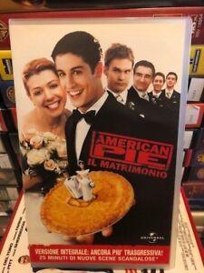 Dettagli su VHS AMERICAN PIE IL MATRIMONIO EX NOLEGGIO
