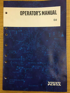 volvo penta d2 operators manual d2 55 and d2 75 unused ebay rh ebay co uk volvo penta d2-55 owner's manual volvo penta d2-55 operator's manual