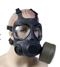 (2) NATO approved NBC New Gas Mask Military Survival Gear Be Prepared