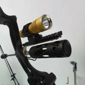 Compound-bow-Barrel-Mount-Holder-for-Laser-sight-amp-Flashlight-Torch-Night-Hunter