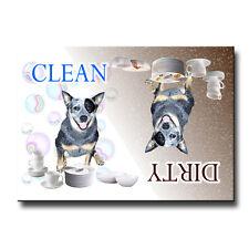 Australian Cattle Dog Clean Dirty Dishwasher Magnet New