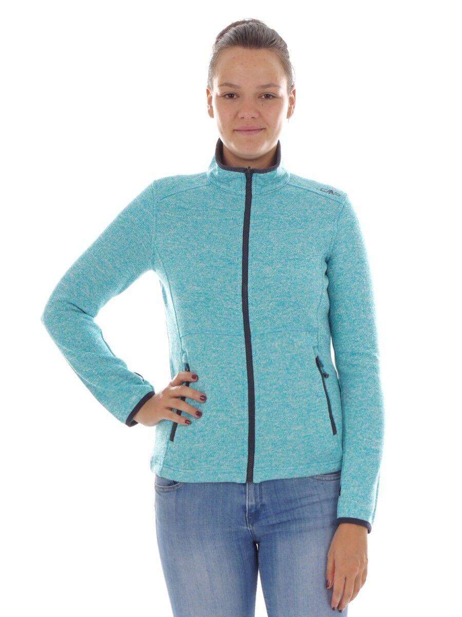 CMP Veste Polaire Sous-Veste Veste Fonctionnelle blue Knittech Isolant