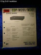 Sony Service Manual CDP M201 / M301 CD Player (#2280)