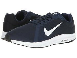 huge discount 6ca2d 0d381 Image is loading Nike-DOWNSHIFTER-8-Mens-Midnight-Navy-White-908984-