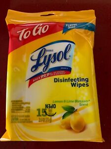 12  Packs whipes To Go Travel size wet ones 12 x 15 total 180