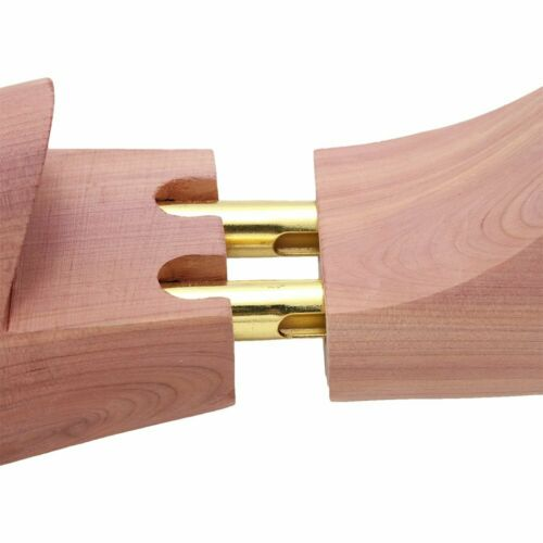 1 Paar Schuhspanner Schuhstrecker Zedernholz Spiralfeder Echtholz Holz Gr.38-45
