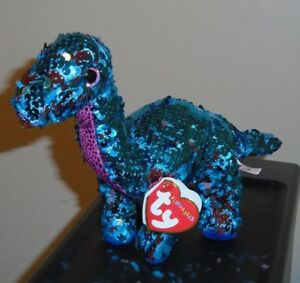 66c431b3de1 Ty FLIPPABLES ~ TREMOR the Dinosaur Changing Sequins 6