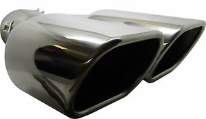 Twin-Square-Stainless-Steel-Exhaust-Trim-Tip-Mazda-6-Series-2002-2016