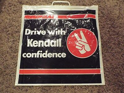 Never Used With Traditional Methods Very Rare Kendall Motor Oil Carry Plastic Bag Business & Industrial