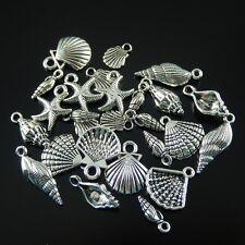 50470 Antique Silver Alloy Bald Eagle Pendant Charms Crafts Decoration 7PCS