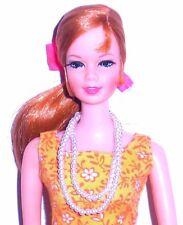 Vintage 1960s Barbie Tammy Tressy Suzette Double Strand Pearl Necklace Mint
