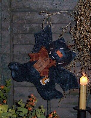 Primitive Bellfry Bat Halloween Doll Paper Pattern #150