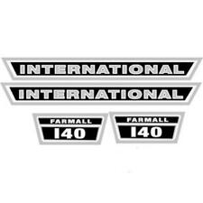 I140 Tractor Hood Decal Set For Internationalfarmall 140