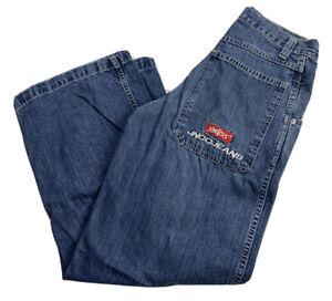 JNCO-Vintage-90-s-Carpenters-Skater-Punk-Grunge-Goth-Jeans-Sz-29x30-Rare-A2016