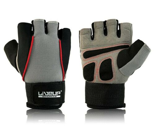 Weight Lifting Gym Gloves Training Padded Fitness Bodybuilding and Exercise
