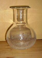 Thomas 1 Glas Vase, Tisch Vase, Deko Luftblasen, klar