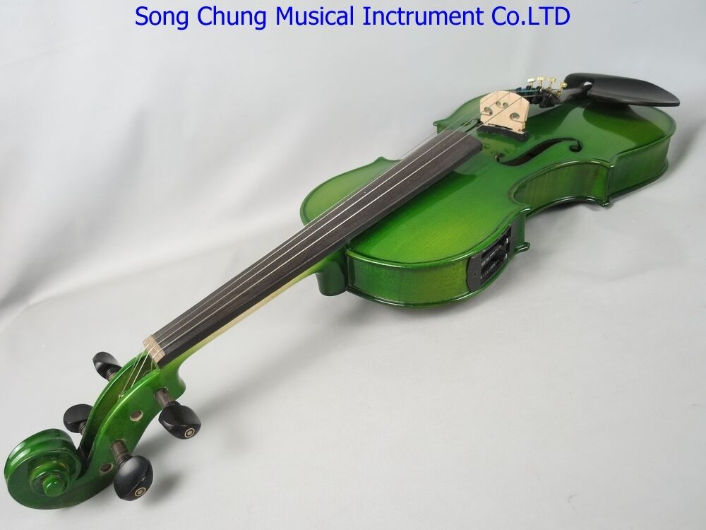 Solid wood Green colors electric & acoustic purple 16