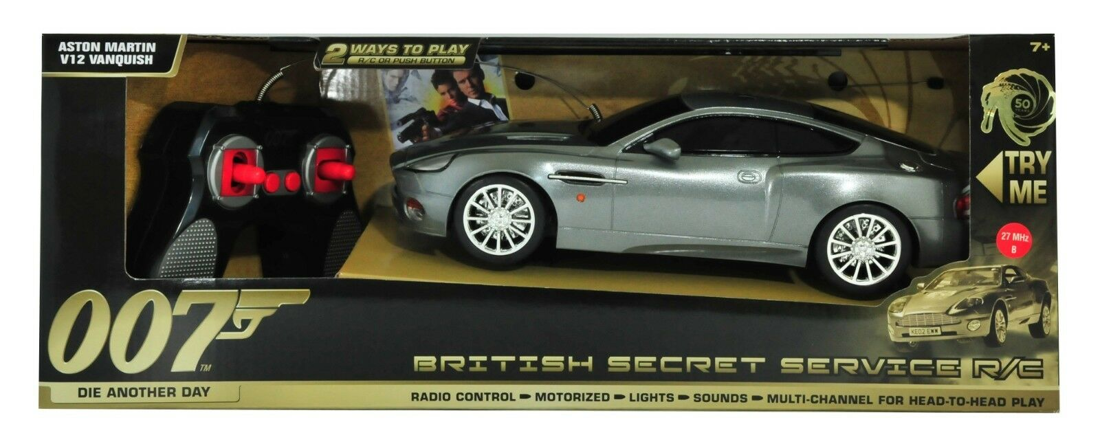 007 james bond secret serviceaston martin vanquish r   c - modell (18 punkte)