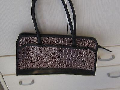 Handtasche neuwertig bordeaux/lila