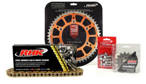 RHK XRing Chain Fusion Sprocket Kit 13//50 FOR KTM150 SX 1990-2019