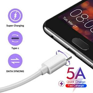 UGI-TPE-Fast-Charging-5A-Charger-USB-Type-C-Cable-For-Samsung-S8-S9-S10-Android