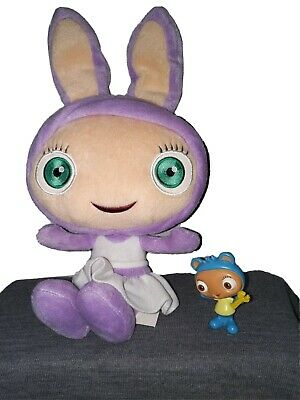 Fisher Price 2010 Waybuloo Lau Lau Talking Plush Toy Noktok Figure Cbeebies Ebay