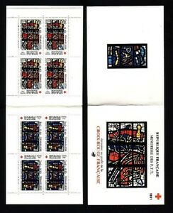 STAMPS-France-Carnet-CROIX-ROUGE-1981-NEUF-LUXE
