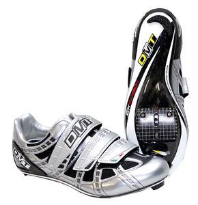 DMT-Rennradschuh-Radial-Silver-Fahrradschuhe-Rennrad-Look-Shimano-Time-Speedplay