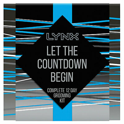 Lynx Ice Chill Collection Let The Countdown Begin 12 Day Grooming Kit