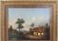 miniatuur 3 - Josef PFEIFFER Très Belle Huile Toile Paysage TYROL AUTRICHE 1862