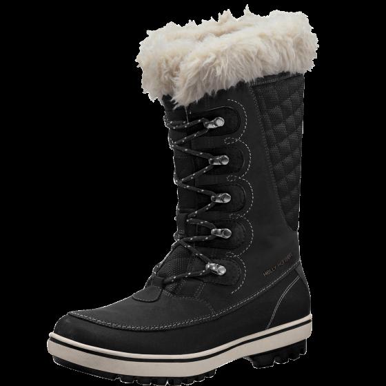Helly Hansen  Giribaldi nero Leather Faux Fur Winter Snow stivali donna Dimensione 9.5  benvenuto a comprare