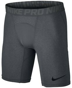 Nike-Men-039-s-Pro-Dri-FIT-Compression-Shorts-in-Charcoal-11405-Size-M
