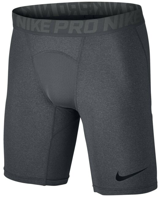 Nike Men's Pro Dri-FIT Compression Shorts in Charcoal  Size L 52738